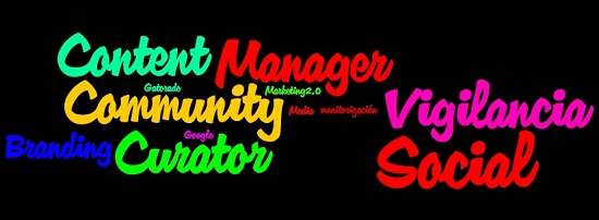 Tag Cloud Vigilancia Social, Content Curator y Community Manager 2'
