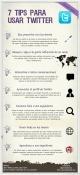 7 consejos para usar Twitter - Infografía