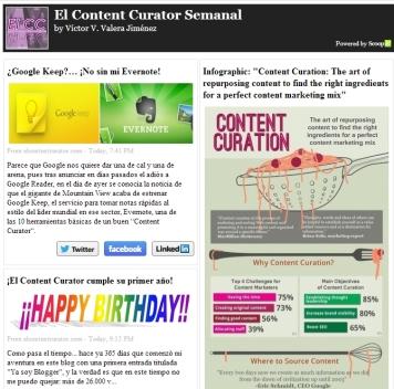 El Content Curator Semanal