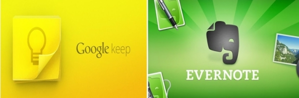 Google Keep vs Evernote
