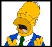 Homer Simpson - Boca agua