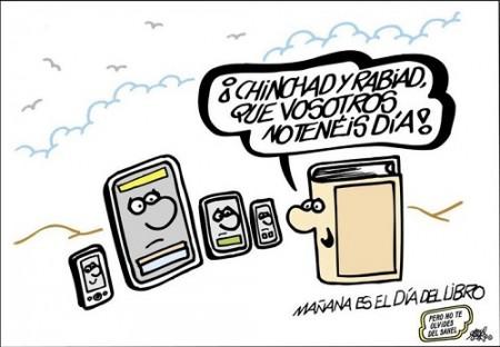 Felíz Día del Libro by Forges