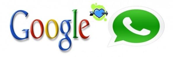 Google loves WhatsApp