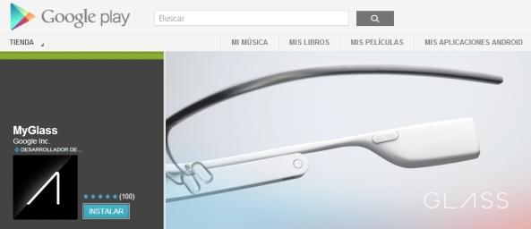 MyGlass en Google Play