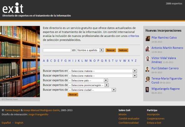 Web Directorio Exit