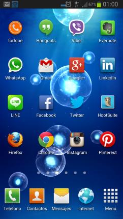 Apps Smartphone Mensajería
