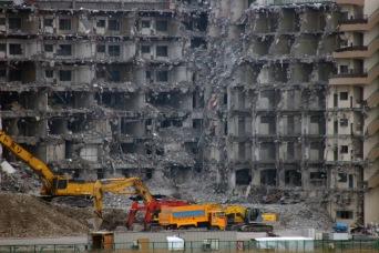 Edificio en demolición