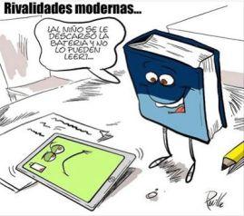 Rivalidades modernas - Ebook vs libro