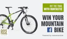 ¿O esta fantástica Bicicleta de Montaña de Rose?