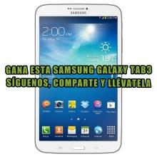 ¿Y si fueses el ganador de esta excepcional Samsung Galaxy Tab 3?