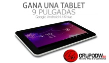 "Tablet 9"" con Android 4.4 Kitkat"