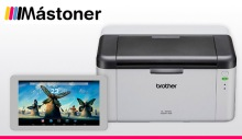 Impresora Laser Brother + Tablet