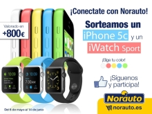 iPhone 5c + iWatch Sport